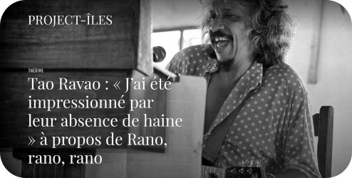 itw Tao Ravao dans Proct-Îles 2016